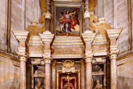El Cabildo quiere abrir dos vitrales en la capilla del Sagrat Cor de la Seu