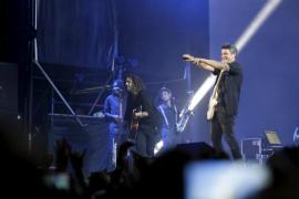 Cerca de 9.000 personas devoran el 'Sirope' de Alejandro Sanz en Palma