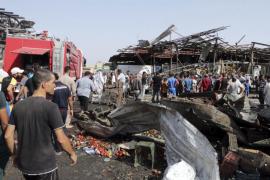 Un atentado en un mercado de Bagdad deja más de 50 muertos