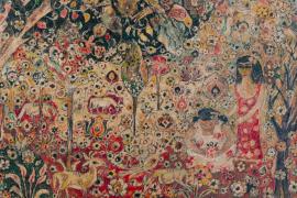 El paisaje colorista de Bob y Dorothy Bradbury se muestra en Can Prunera
