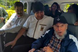 Maduro y Morales visitan a Castro por su cumpleaños