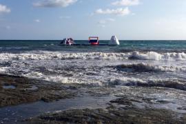 SUMA critica «la sobreexplotación» de la playa de Son Bauló con un nuevo parque acuático