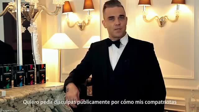 Robbie Williams se disculpa por la invasión británica de las playas en destinos como Mallorca