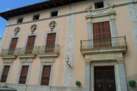 Arca expresa su preocupación por la conservación del Palau d'Aiamans, en Lloseta
