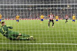 San José y Aduriz derriban al Barça en una noche de ensueño del Athletic