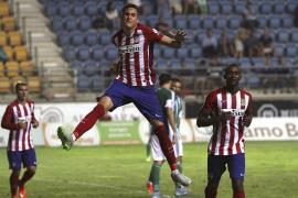 El Atlético de Madrid logra, de cabeza, su décimo trofeo Carranza
