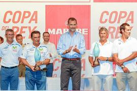 Entrega de trofeos de la 34 Copa del Rey Mapfre de vela