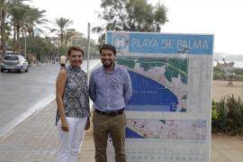 Durán dice que Cort ha abandonado a la Platja de Palma «a su suerte»