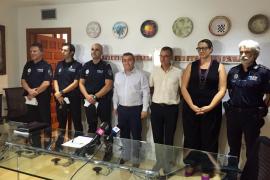 La policía de Inca cuenta con tres nuevos oficiales para mejorar la atención ciudadana