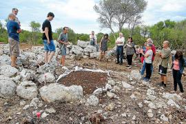 Hallan indicios de ocupación talayótica en una naveta de los Closos de Can Gaià