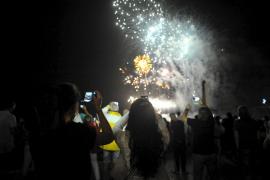 Medio Ambiente autoriza los espectáculos pirotécnicos de Sant Lluís y Capdepera