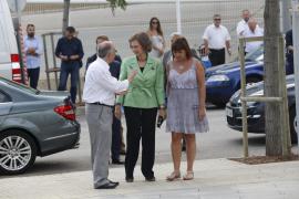 La reina doña Sofía asiste a la inauguración de la nueva sede de Projecte Home