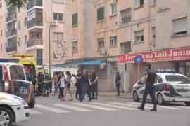 Detenidas dos personas por provocar un incendio en un edificio de Son Gotleu