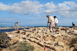 Proponen visitar el yacimiento de Na Galera en colchoneta hinchable