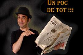 El imitador Xavi Canyelles repasa la actualidad en el Fes JaJa 2015