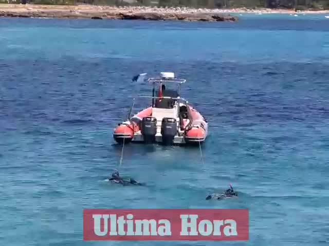Buscan a un hombre  de 54 años desaparecido mientras nadaba en s'Illot