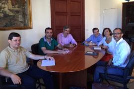 Reunión de Barceló y Servera.