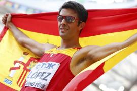 Miguel Ángel López logra la primera medalla para España en los mundiales de atletismo