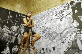 Amadeo Orellana recrea el «ciclo de la vida» en Ses Voltes