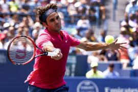 Federer acentúa su dominio así como el maleficio de Djokovic en Cincinnati
