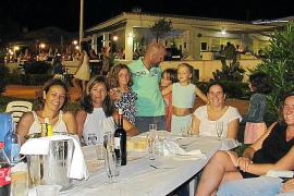 Cena en el Club Nàutic de la Colònia de Sant Pere