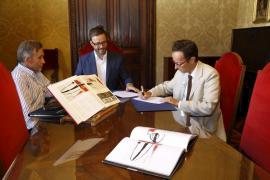 La familia Miró dona dos fragmentos de la maqueta Mural a la Fundació