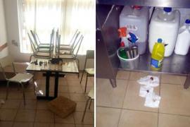 Bunyola denuncia actos vandálicos en el Colegio Mestre Colom