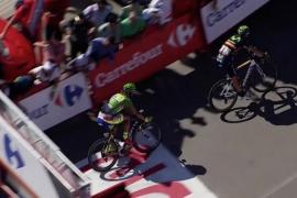 Alejandro Valverde se impone a lo grande en Vejer, Chaves sigue líder