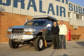 Pep Cifre, un mallorquín en la gran aventura del Dakar