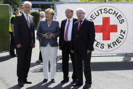 Merkel, abucheada