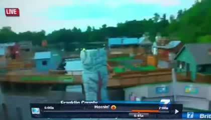 Matan a una periodista y un cámara mientras informaban en directo