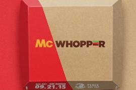 Burger King y McDonald's, una hamburguesa por la paz