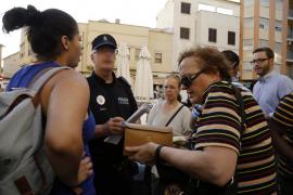 Cort asegura que se ocupa de las familias desalojadas del edificio de Pere Garau