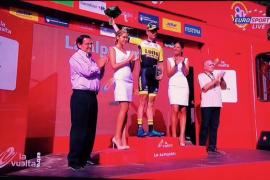 El holandés Bert Jan Lindeman gana en Capileira y Chaves aguanta líder