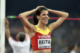 Ruth Beitia, quinta en la final de altura
