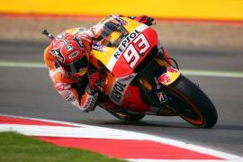Lorenzo saldrá segundo en Silverstone por detrás de Márquez