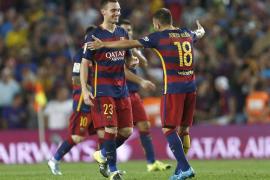 Vermaelen evita que el Málaga vuelva a puntuar en el Camp Nou