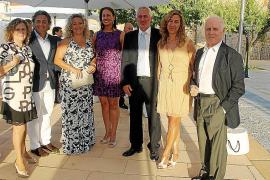 Boda de Francine Hostein y José R. Plazas