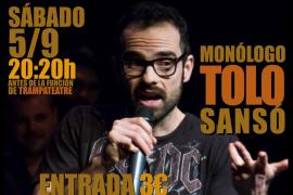 Monólogo de Tolo Sansó en la Sala Trampa