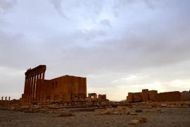 El Estado Islámico dinamita parte del templo de Bel en Palmira