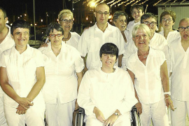 Fiesta de blanco en el Portixol