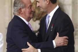 Don Juan Carlos: «El Rey ha sabido ganarse el respeto de los españoles»