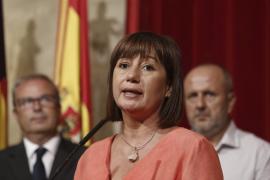 Armengol cree que el problema de financiación de Baleares no debe hacer que se «menosprecie» a otras CCAA