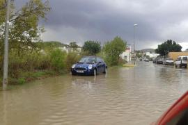 VÍDEO: Las lluvias colapsan de nuevo Eivissa