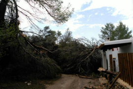 Tornado en Ibiza