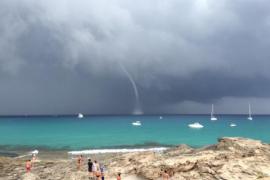 Tornado en Formentera