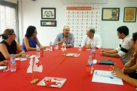 Ensenyat alaba el trabajo de Cruz Roja Balears y destaca su voluntad colaborar con la entidad