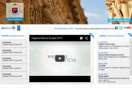 La web del Bisbat de Mallorca, atacada en nombre de Anonymous