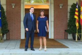 Armengol ofrece a Rajoy hacer de puente con Catalunya