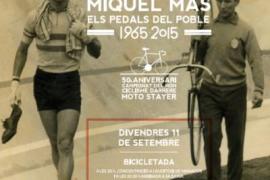 Manacor homenajea a Miquel Mas con una 'bicicletada' popular